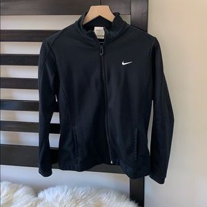 Nike black golf lightweight jacket
